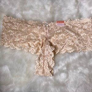 Cacique Nude Lace Low Rise Panties